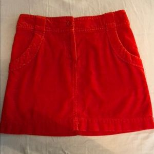 Dresses & Skirts - Cute corduroy skirt in bright red